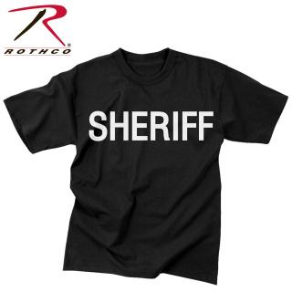 Rothco 2-Sided Sheriff T-Shirt-