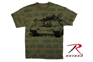 Rothco Vintage Olive Drab Tank T-Shirt-