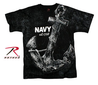 Rothco Vintage Navy Anchor T-shirt-