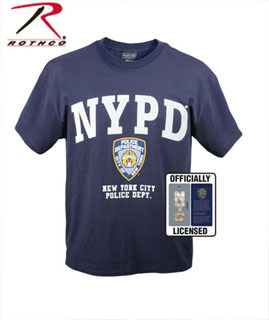 Officially Licensed NYPD T-shirt-Rothco