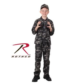 Rothco Kids Digital Camo BDU Shirt-Rothco
