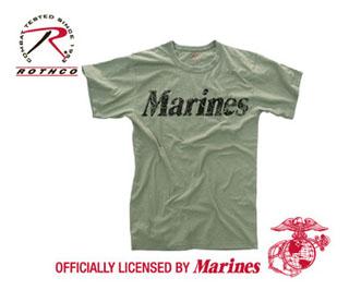 Rothco Vintage Marines T-Shirt-