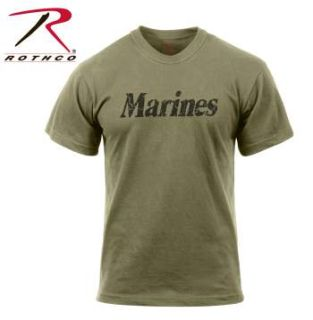 Rothco Distressed Marines T-Shirt-