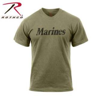 Rothco Distressed Marines T-Shirt-Rothco