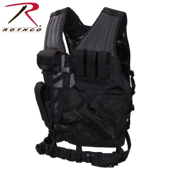 Rothco Cross Draw MOLLE Tactical Vest-Rothco