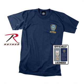 Officially Licensed NYPD Emblem T-shirt-Rothco