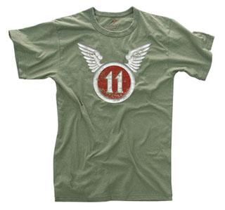 Rothco Vintage 11th Airborne T-Shirt-