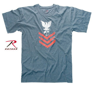 Rothco Vintage Naval Rank Insignia T-Shirt-