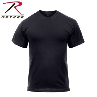 6671_Rothco Solid Color Cotton / Polyester Blend Military T-Shirt-