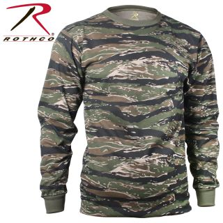 Rothco Long Sleeve Camo T-Shirt-Rothco