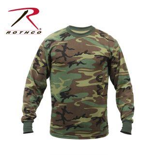 Rothco Long Sleeve Camo T-Shirt-Rothco