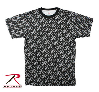 Rothco Vintage Black Bomb T-Shirt-