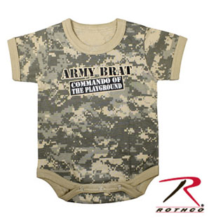 Rothco Army Brat Infant One-Piece-