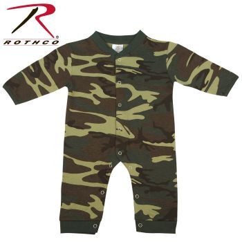 Rothco Infant Camo Long Sleeve and Leg One-piece Bodysuit-