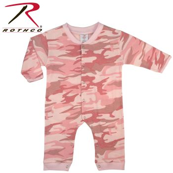 Rothco Infant Camo Long Sleeve and Leg One-piece Bodysuit-Rothco