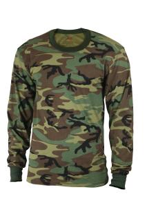 Rothco Kids Long Sleeve Camo T-shirt-