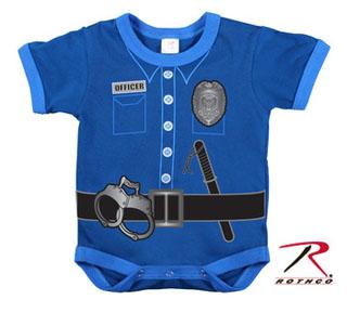 Rothco Infant One Piece / Police Uniform - Navy-