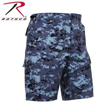 Rothco Bdu Short P/C - Sky Bluedigital Camo