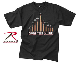 Rothco Vintage Choose Your Caliber T-Shirt-