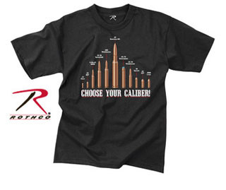 Rothco Vintage Choose Your Caliber T-Shirt-