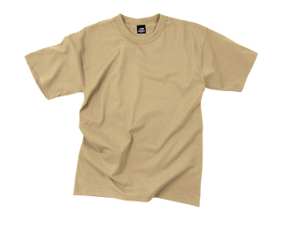 Rothco Solid Color Poly/Cotton Military T-Shirt-Rothco