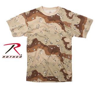Rothco T-Shirt / Desert Camo