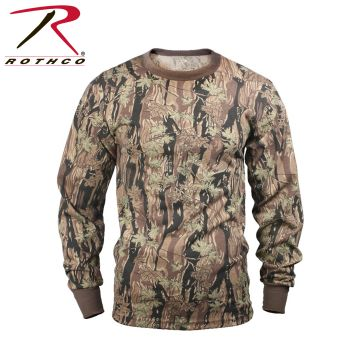 Rothco Long Sleeve Camo T-Shirt-