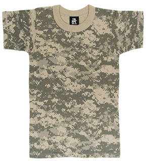 Boys ACU Digital T-Shirt