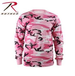Rothco Kids Long Sleeve Camo T-shirt-Rothco