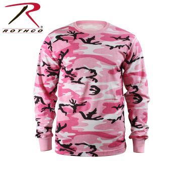 Rothco Kids Long Sleeve Camo T-shirt-