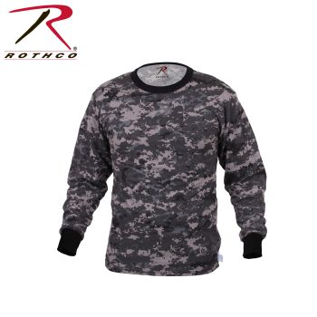 Rothco Long Sleeve Digital Camo T-Shirt-Rothco