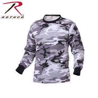 Rothco Long Sleeve Colored Camo T-Shirt-Rothco