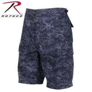 Rothco Digital Camo BDU Shorts-Rothco