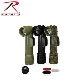 Genuine G.I. Anglehead Flashlight-Rothco
