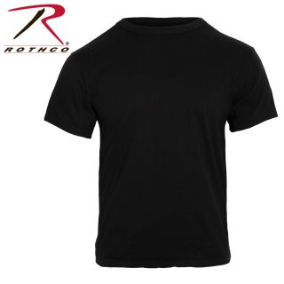 Rothco Solid Color 100% Cotton T-Shirt-
