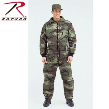 7016 Mens Camouflage Insulated Coveralls-Rothco
