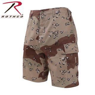 7074_Rothco Camo BDU Shorts-