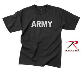 Rothco Army Reflective Grey P/T T-shirt-Rothco
