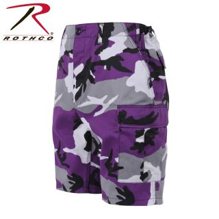 Rothco Colored Camo BDU Shorts-