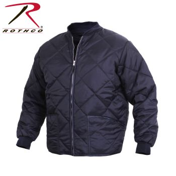 7161 Diamond Quilted Flight Jackets