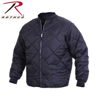 Rothco Diamond Nylon Quilted Flight Jacket-Rothco