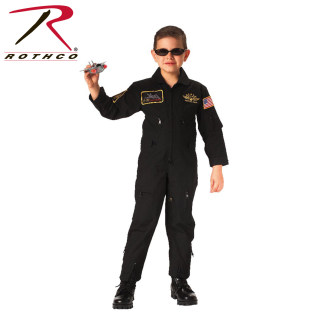 7203_Rothco Kid's Flight Coverall With Patches-Rothco