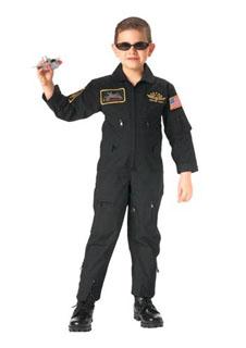 Rothco Kids Aviator Flight Coverall - Black
