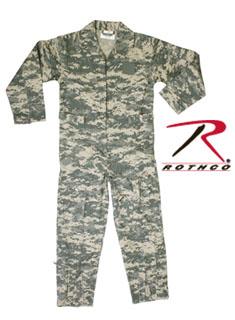 Kids Air Force Type Army Digital Camo Flightsuit