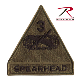 Rothco Spearhead 3rd Armored Patch-