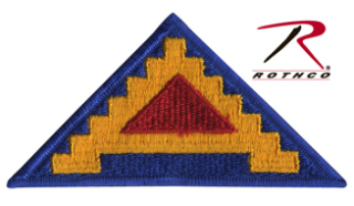 Rothco Patch - 7th Army Seven Steps To Hell-
