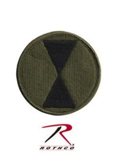 Rothco 7th Infantry Division Patch-Rothco