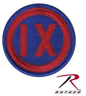 Rothco 9th Corps Patch-Rothco
