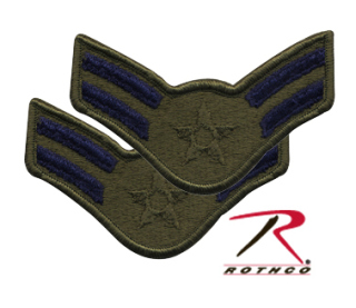 Rothco Subdued USAF Airman 1st Class 1986-1992 Patch-