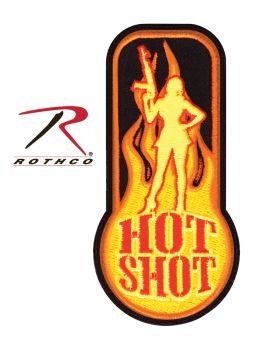 Rothco Hot Shot Morale Patch-